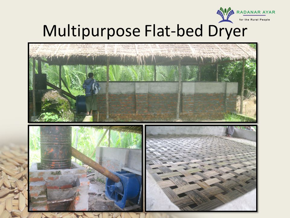 Multipurpose Flat-bed Dryer