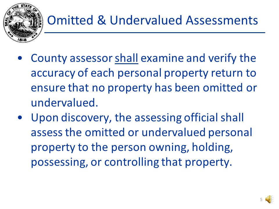 County Assessors Forms 102, 103, and 104 are all filed with the township assessor, if any, otherwise they are filed with the county assessor.