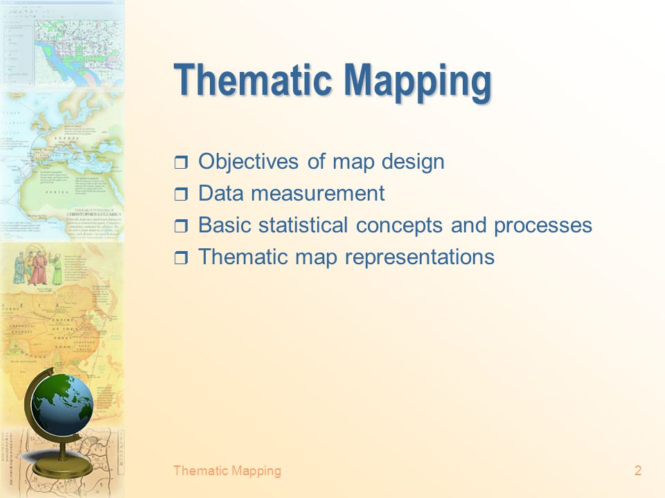 Thematic Mapping32 Natural breaks