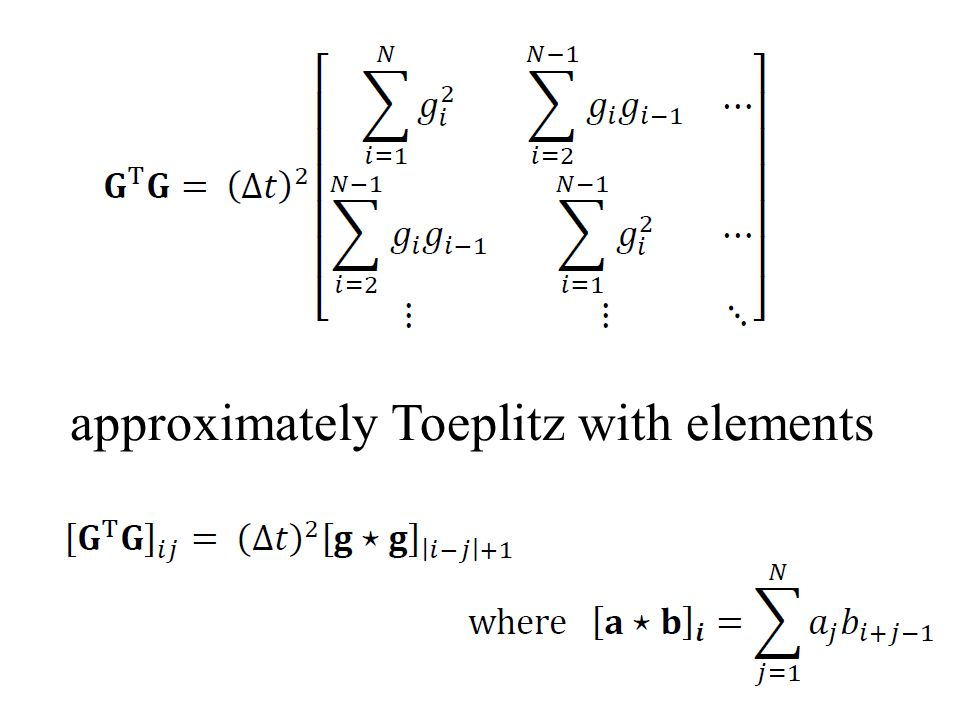 approximately Toeplitz with elements