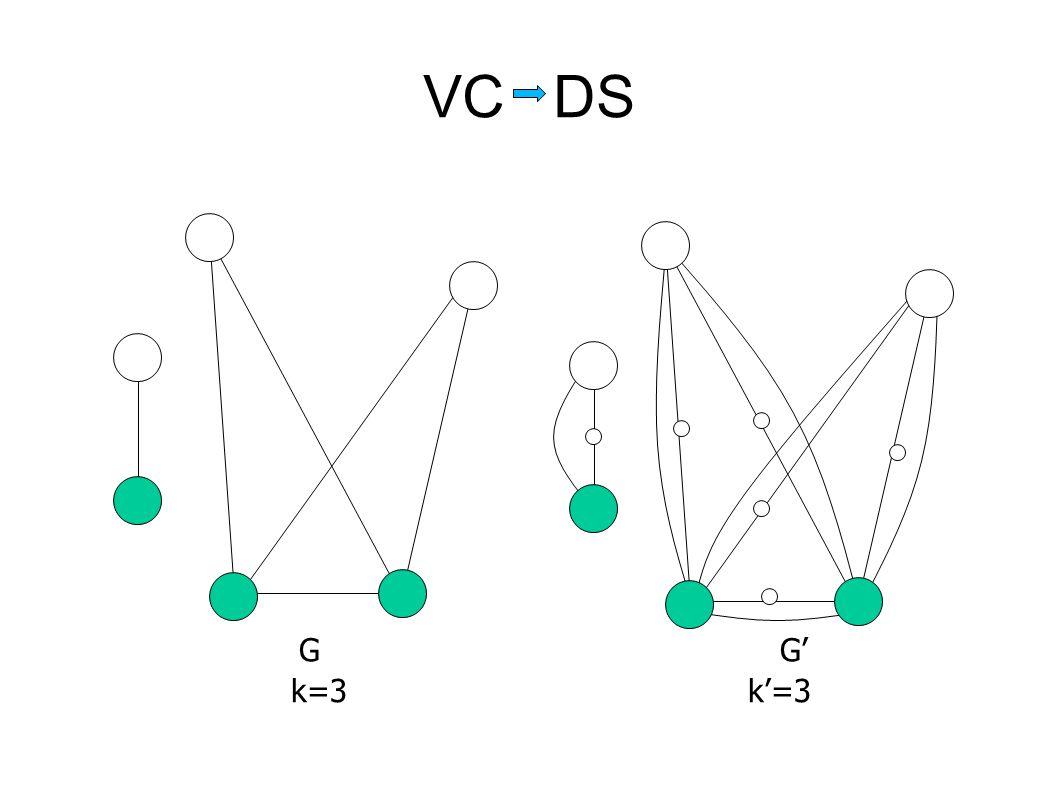 VC DS k=3 k'=3 G G'