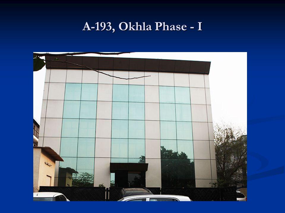 A-193, Okhla Phase - I