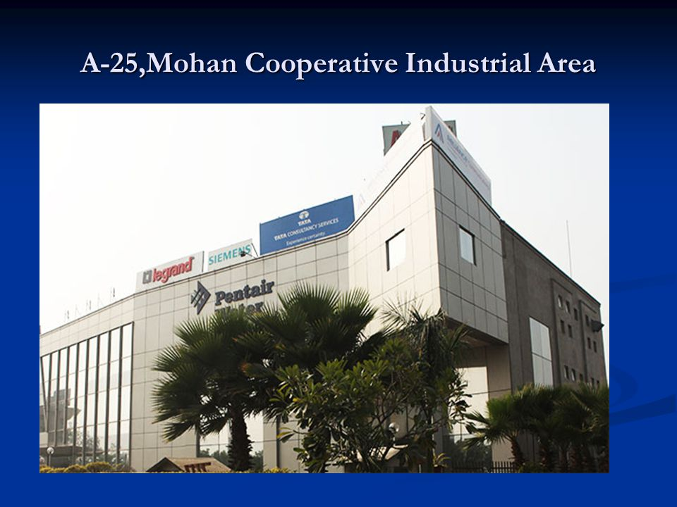 A-25,Mohan Cooperative Industrial Area