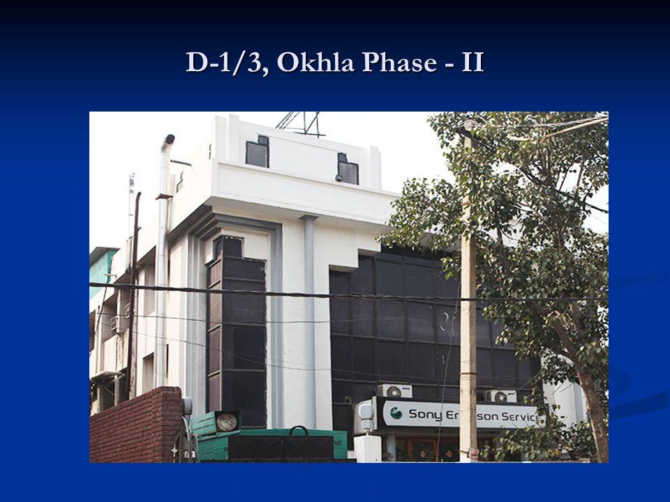 D-1/3, Okhla Phase - II