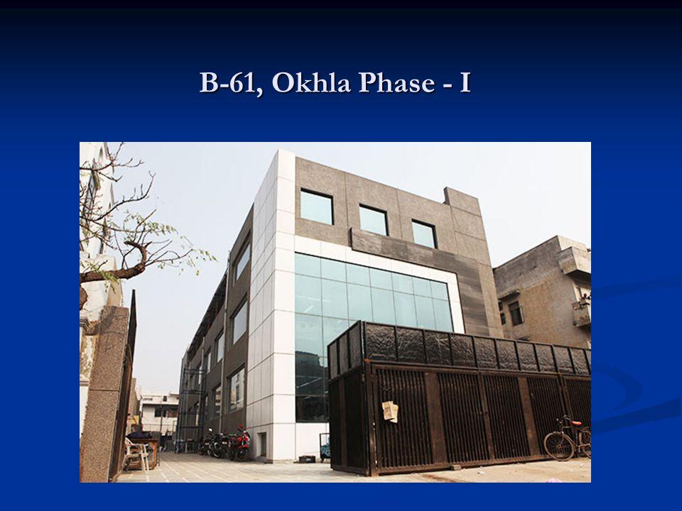 B-61, Okhla Phase - I