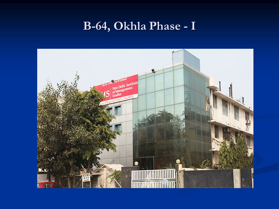 B-64, Okhla Phase - I
