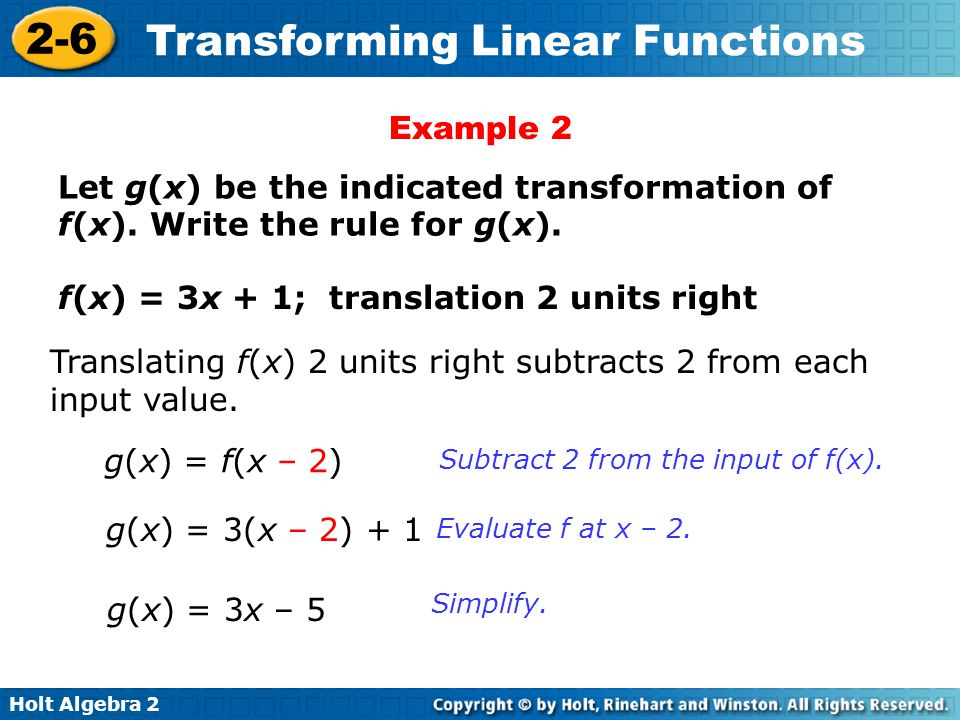 Printables Linear Functions Worksheet Algebra 2 algebra 2 transforming linear functions worksheet intrepidpath holt bellwork give the