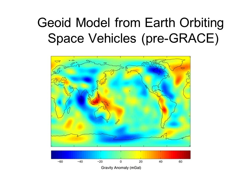 Geoid Model from Earth Orbiting Space Vehicles (pre-GRACE)