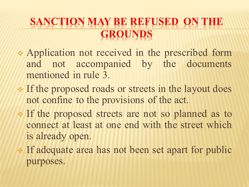  Application not received in the prescribed form and not accompanied by the documents mentioned in rule 3.