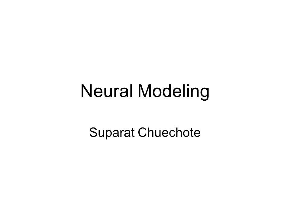 Neural Modeling Suparat Chuechote