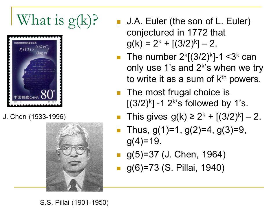 Pillai's Theorem Write 3 k = 2 k q + r, with 0 < r < 2 k.
