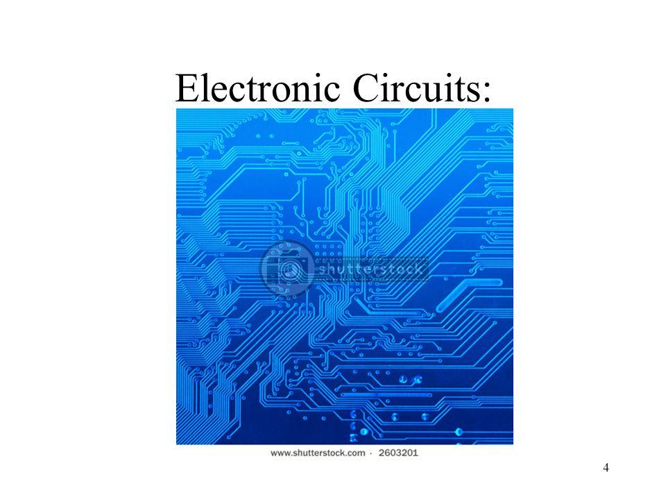 4 Electronic Circuits: