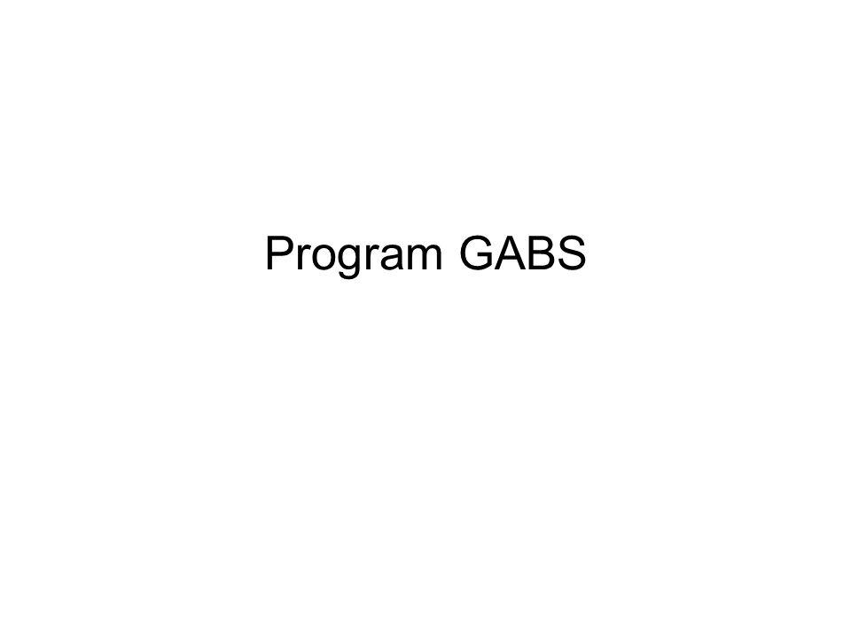 Program GABS