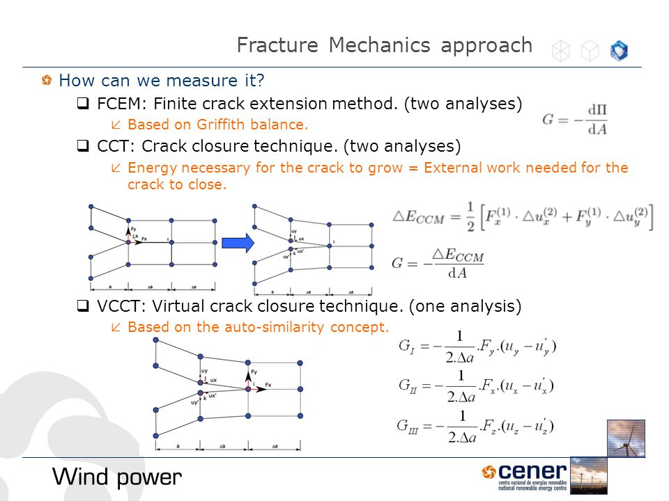 How can we measure it.  FCEM: Finite crack extension method.