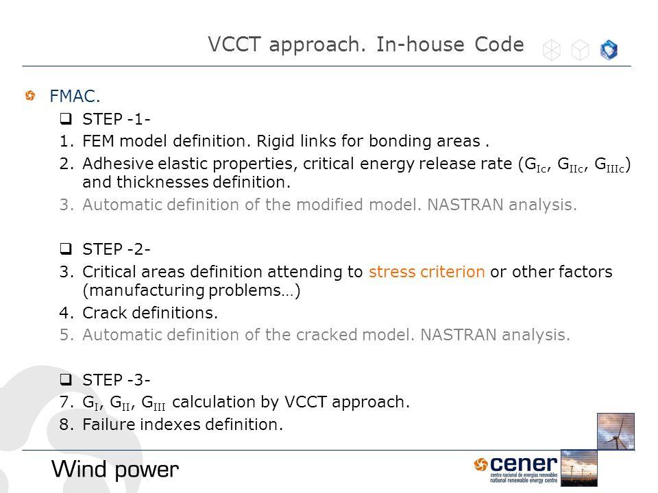 FMAC.  STEP -1- 1.FEM model definition. Rigid links for bonding areas.