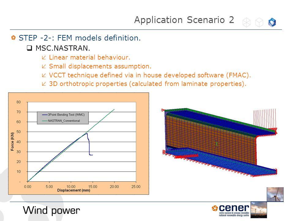 STEP -2-: FEM models definition.  MSC.NASTRAN.  Linear material behaviour.