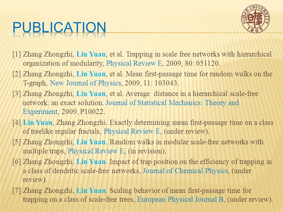 [1]Zhang Zhongzhi, Lin Yuan, et al.