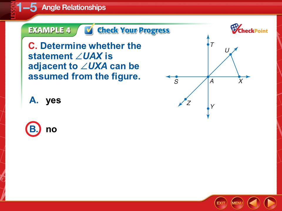 Example 4c A.yes B.no C.