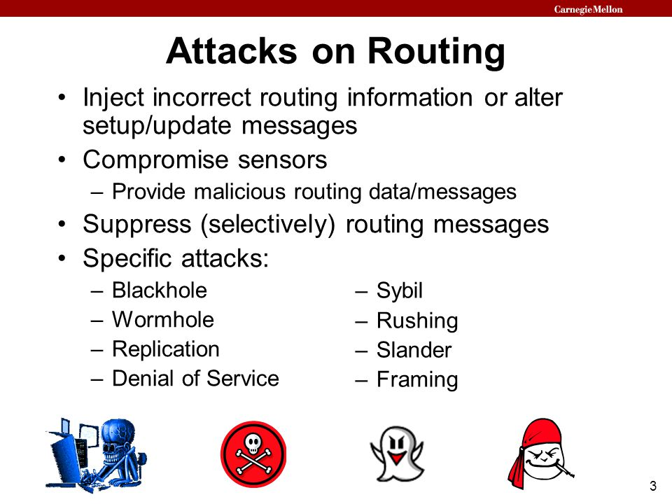 24 Detecting Grouping Deviations Maintain a Grouping Verification Tree (GVT) for each group during recursive grouping –Prevents attacker from lying about group ID or size –Based on a hash tree construction Before two groups merge, they verify each other's GVT Integrity of the GVTs insures integrity of the recursive grouping algorithm Final GVT covers all nodes in the network –Can be used to authenticate any node's network address