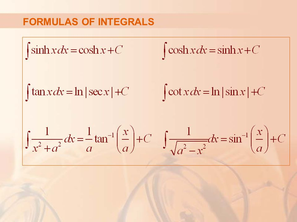 TECHNIQUES OF INTEGRATION In this chapter, we develop techniques for using the basic integration formulas.