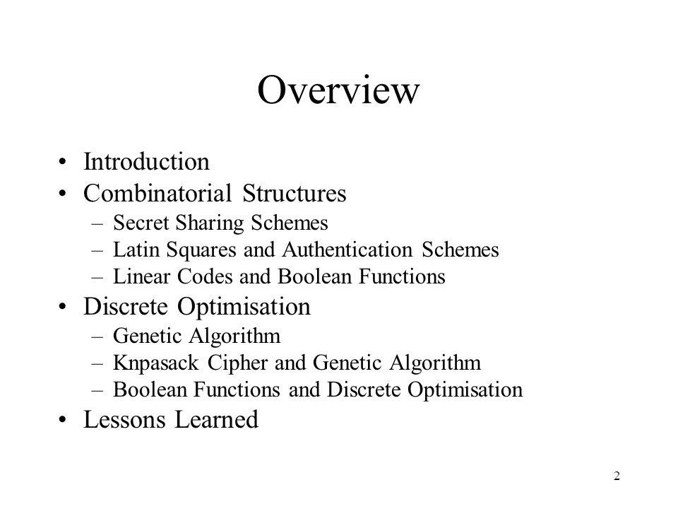 23 Example of Operators 1.