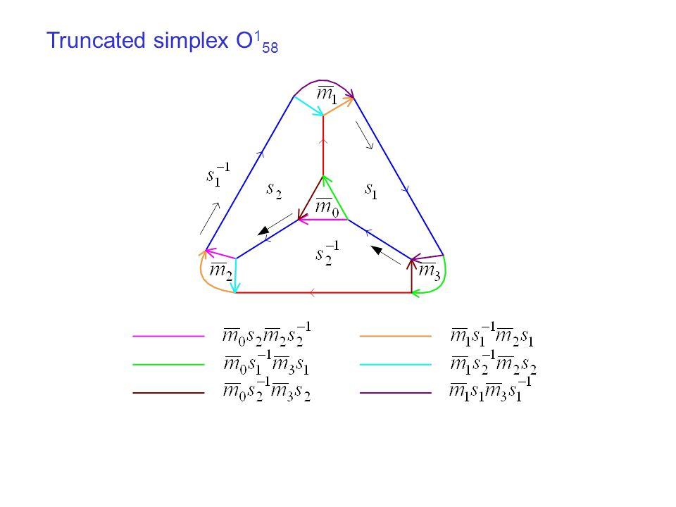 Truncated simplex O 1 58