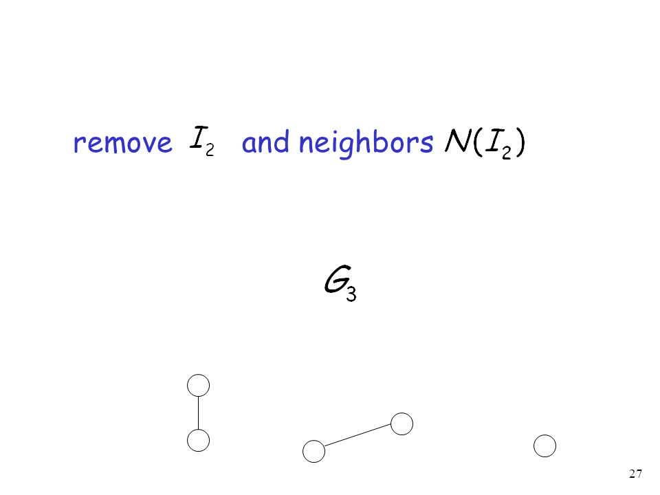 27 remove and neighbors
