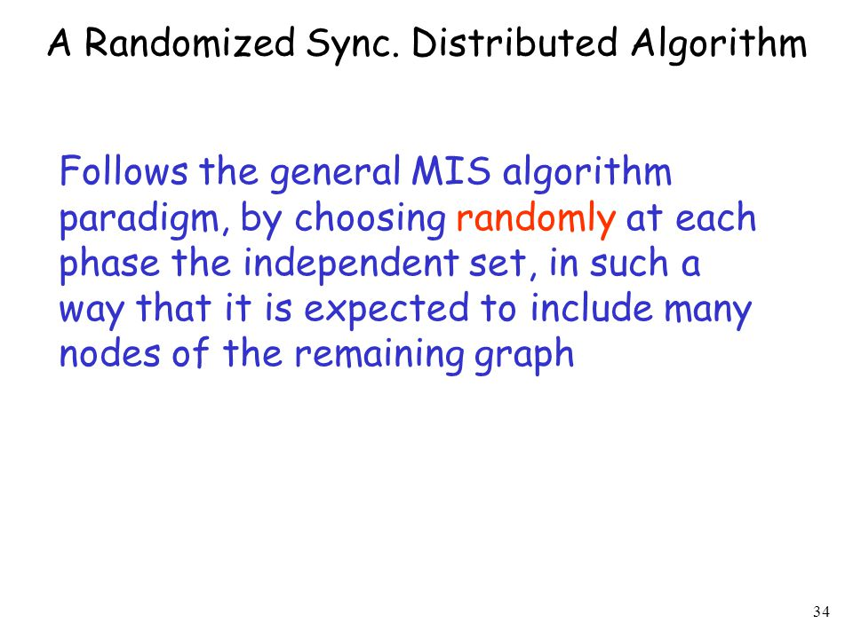 34 A Randomized Sync.
