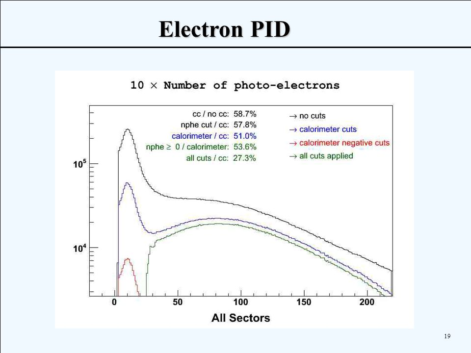 19  Electron PID