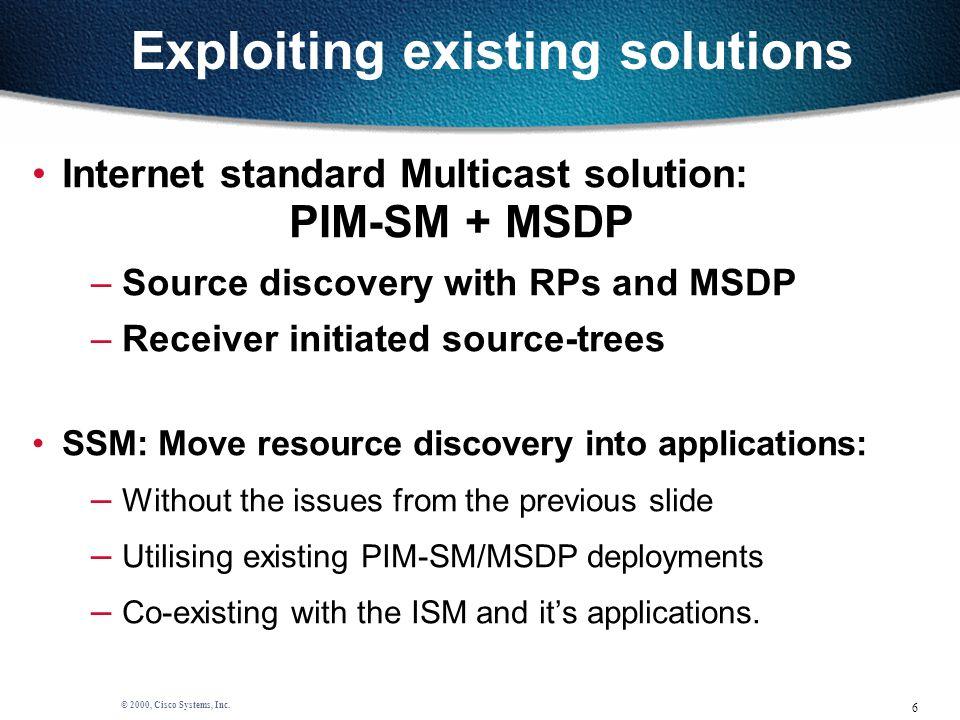 6 © 2000, Cisco Systems, Inc.