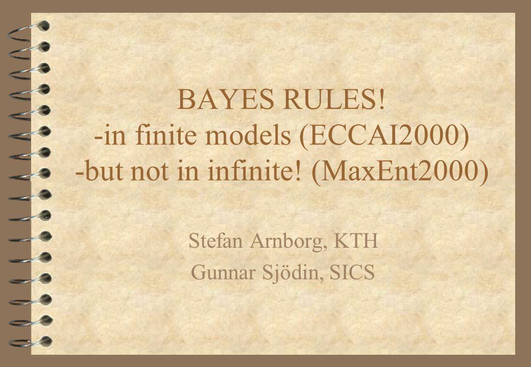 Halpern's Example: 4 Worlds A B C D E G H I J K L M D|E=H|J B|C = L|M A|C = I|JE|G = A|B H|J≈K|M D|G = K|LM