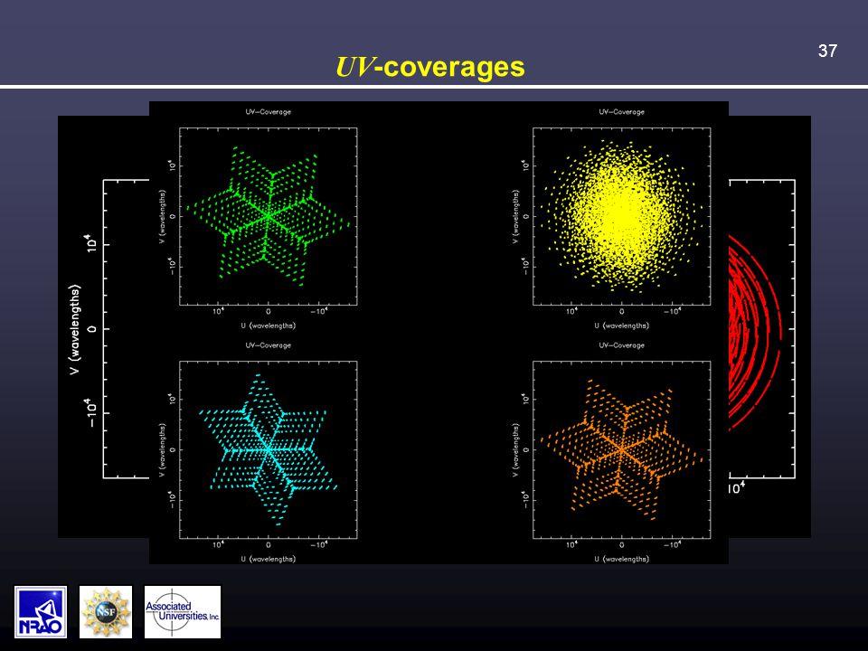 37 UV -coverages