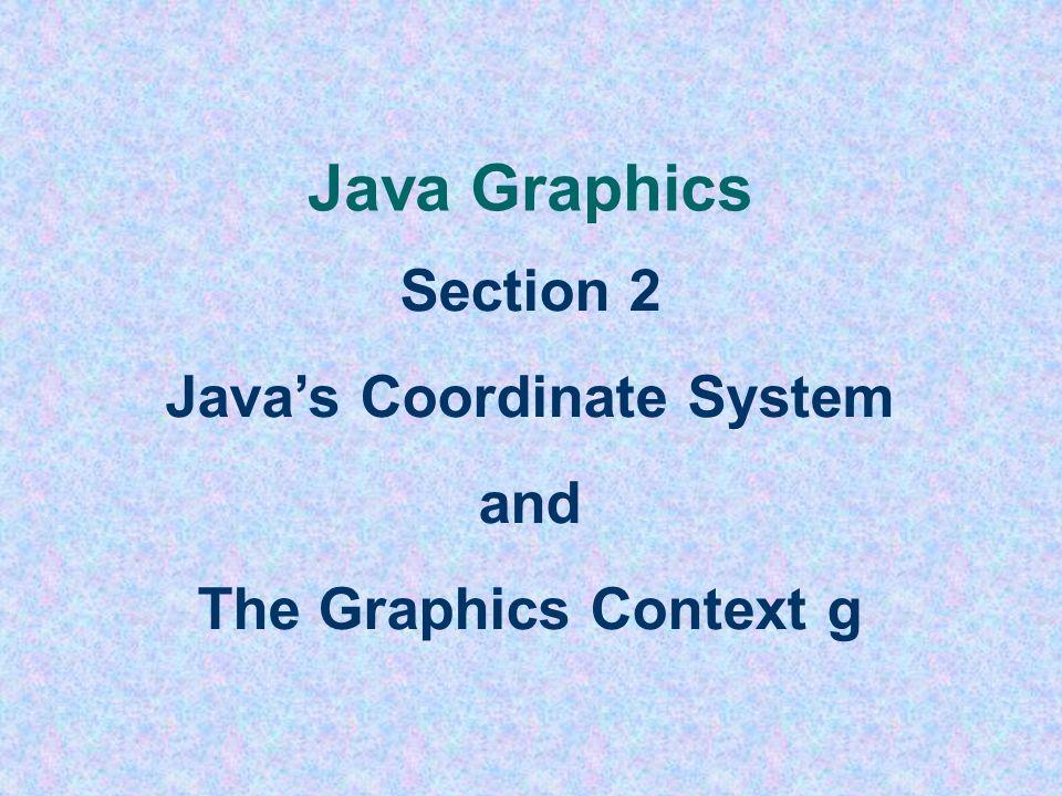 The GeometryApplet Driver File import javax.swing.*; import java.awt.*; public class GeometryApplet extends JApplet { public void init () { resize(800
