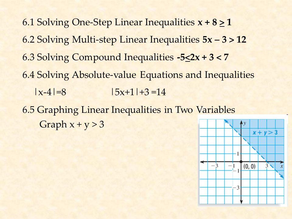 6.6 Stem and leaf plots; mean, median, mode 6.7 Box and whisker plots