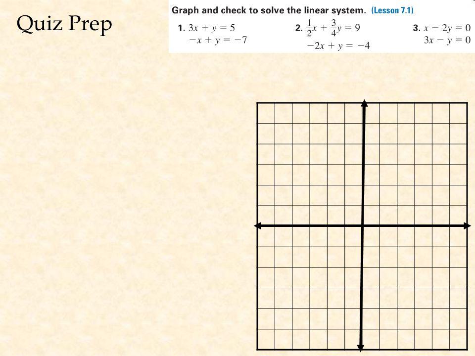 Quiz Prep