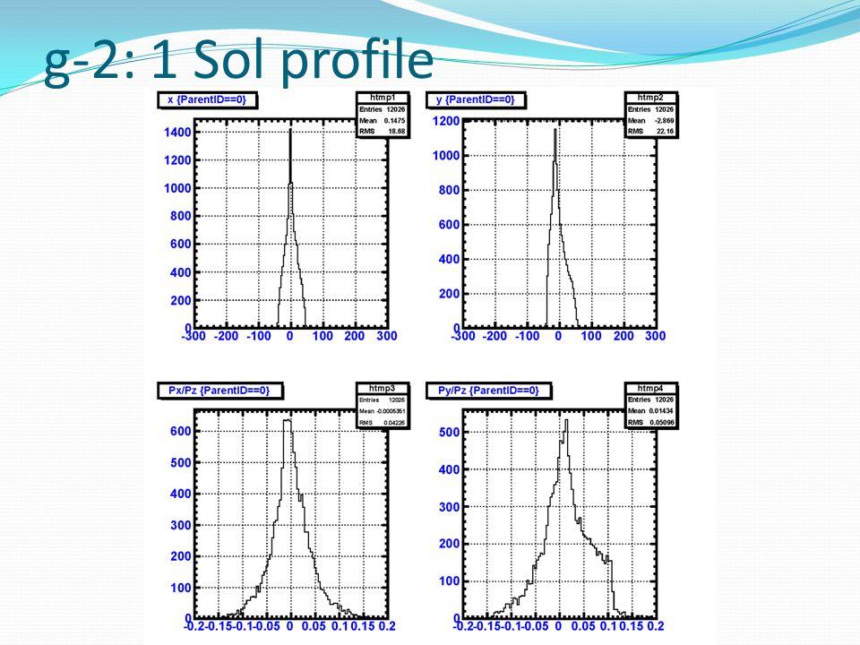 g-2: 1 Sol profile