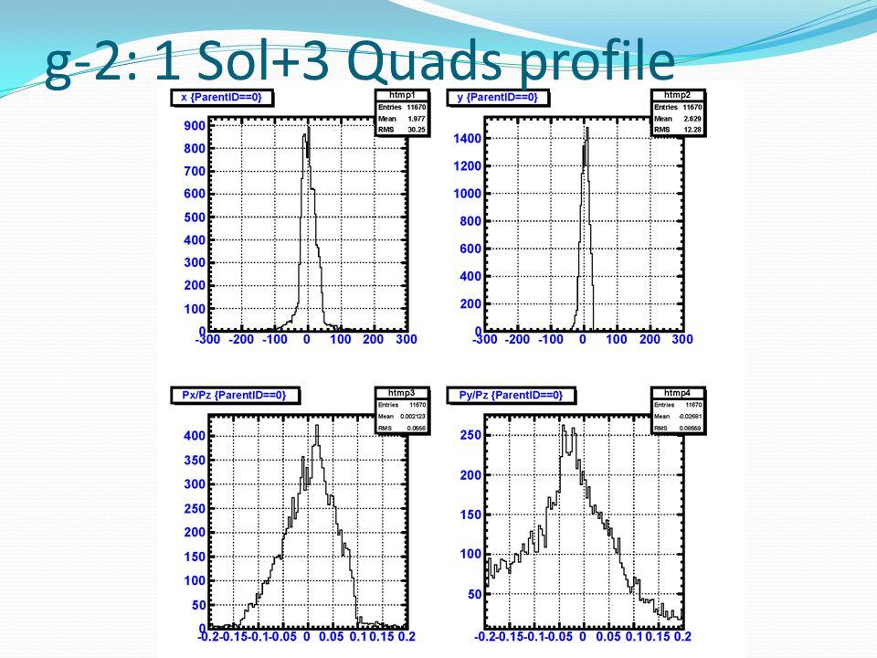 g-2: 1 Sol+3 Quads profile