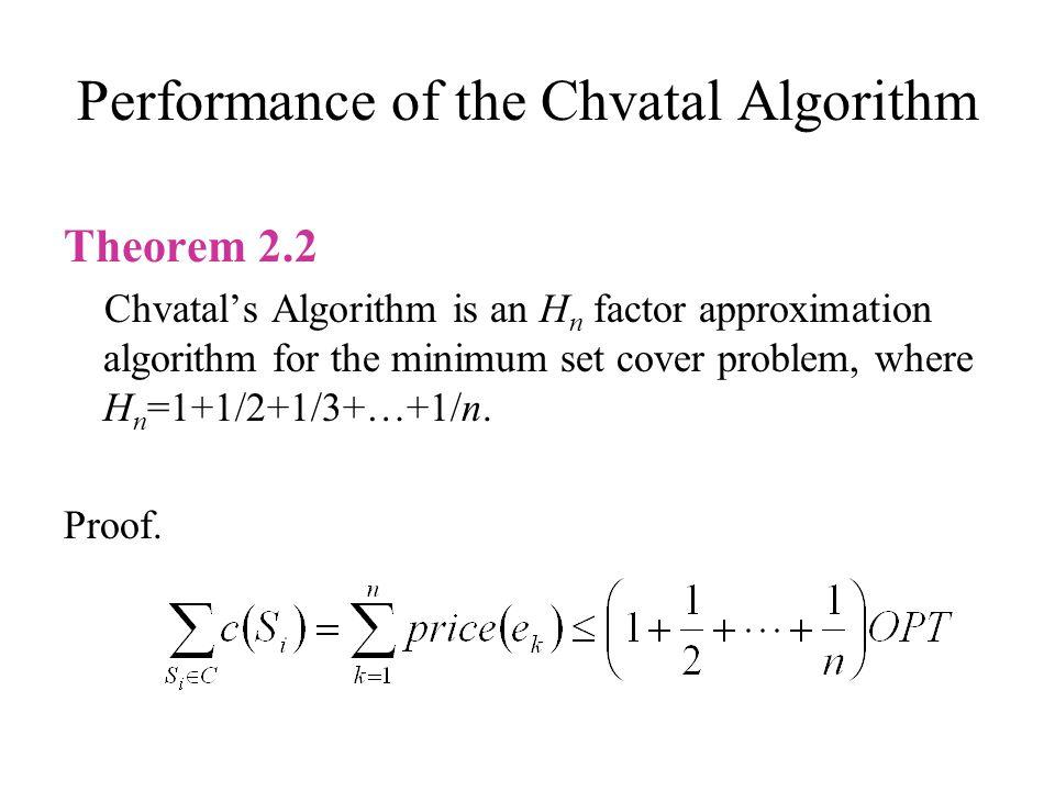 Tight example ●●● 1+ ε 1/n1/(n–1)1/(n–2) 1/2 1