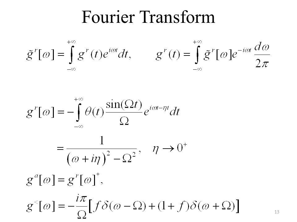 Fourier Transform 13