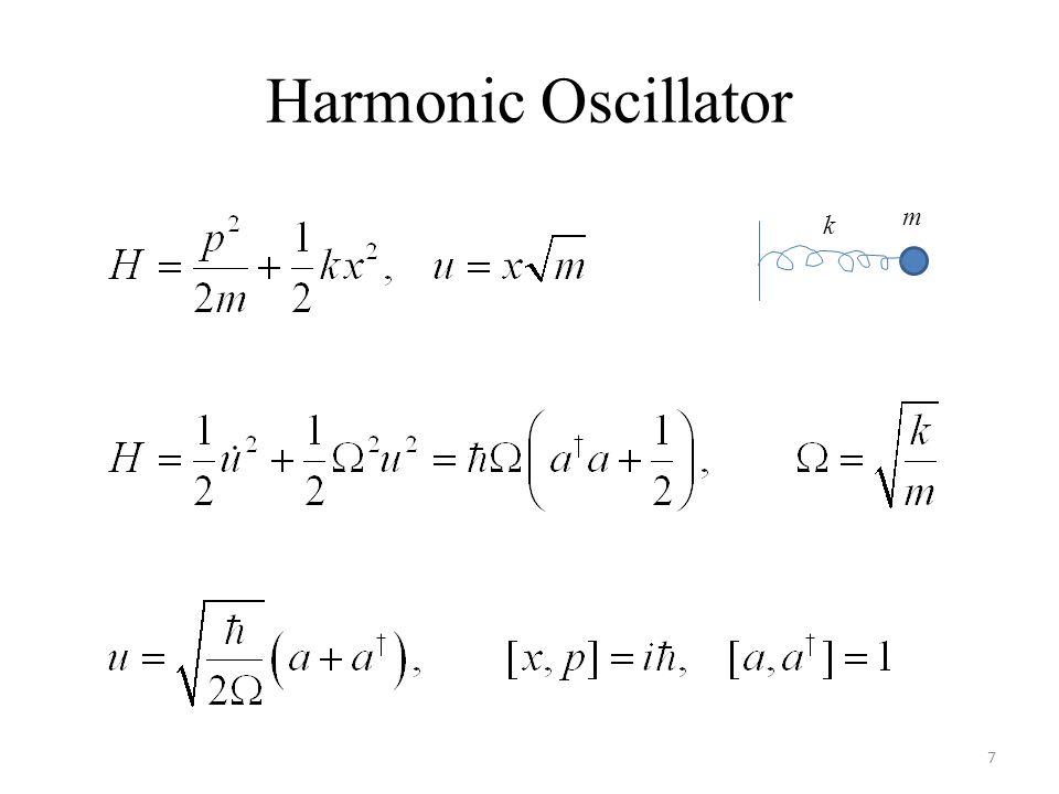 Harmonic Oscillator 7 k m
