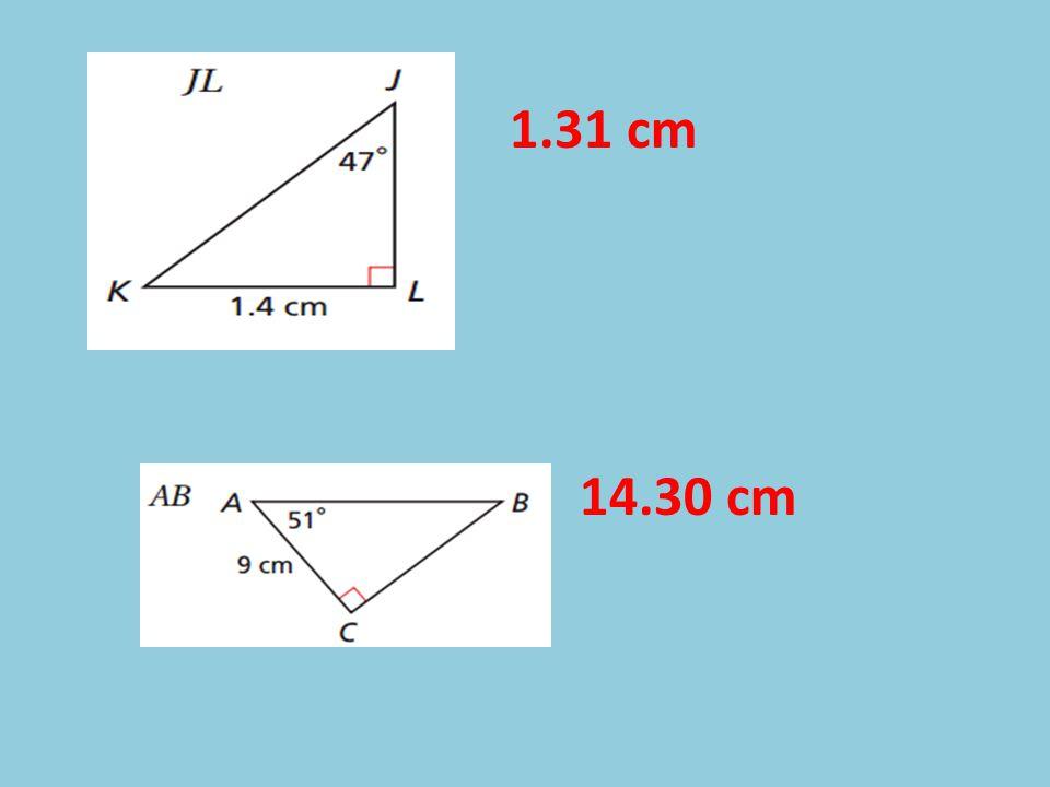 1.31 cm 14.30 cm