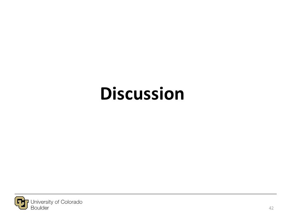 Discussion 42