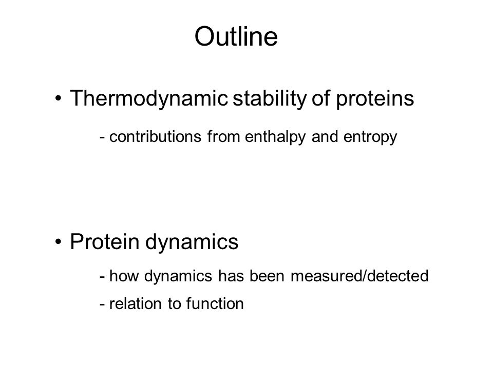 Fine, proteins have shapes and stable structure.Proteins actually DO THINGS!.