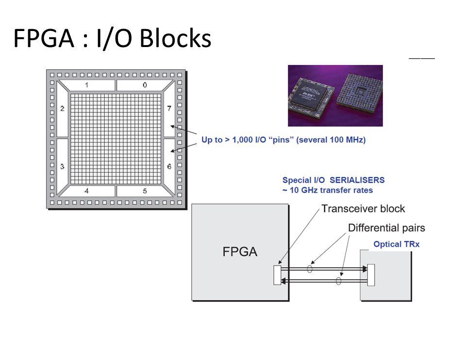 FPGA : I/O Blocks