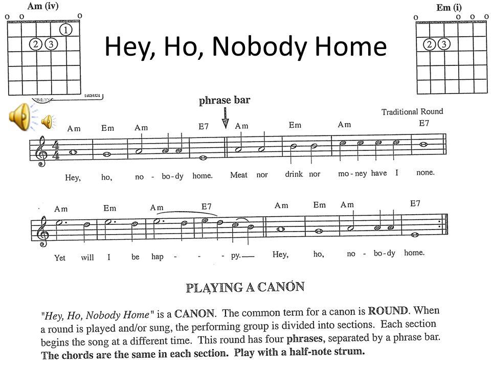 Hey, Ho, Nobody Home
