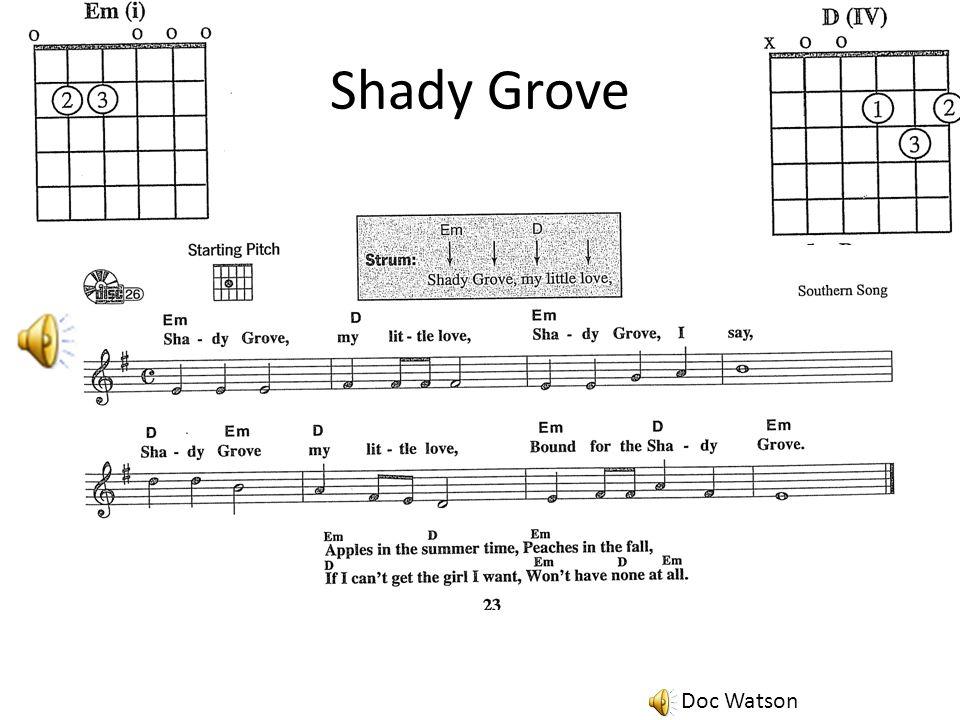 Shady Grove Doc Watson