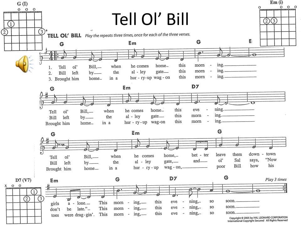 Tell Ol' Bill