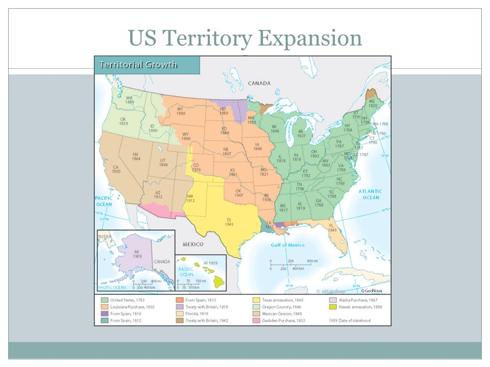 US Territory Expansion