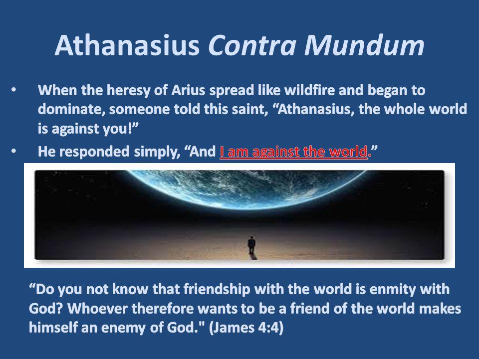 Athanasius Contra Mundum