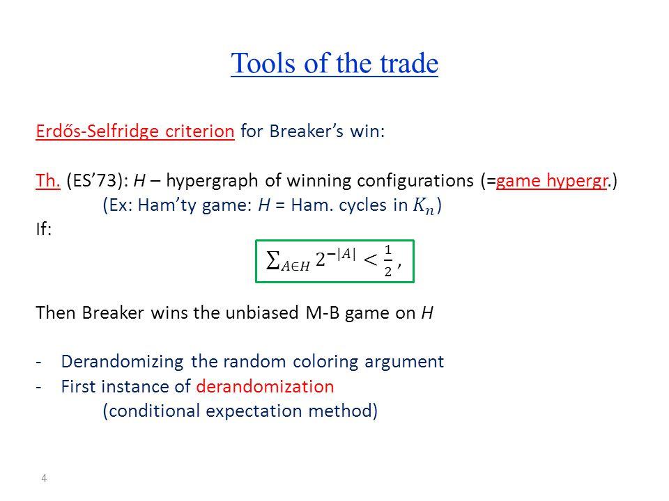 Biased Maker-Breaker games 5 More generally, m edges per move